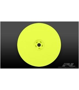 "VELOCITY 2.2"" HEX REAR YELLOW WHEELS (2)"