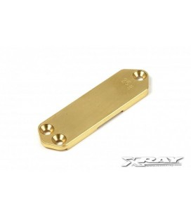 BRASS CHASSIS WEIGHT FRONT 25GR.