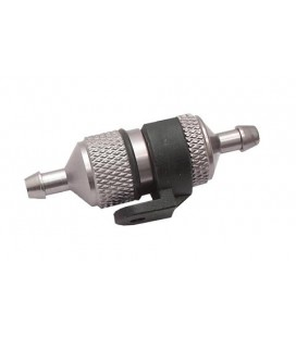 ALUMINIUM FUEL FILTER 2MM WITH HOLDER