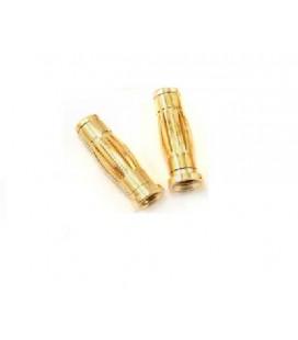 GOLD PLUG 4MM (2U)