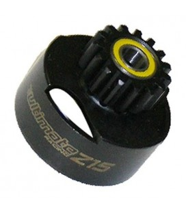 CLUTCH BELL VENTILATED 15T + BEARINGS