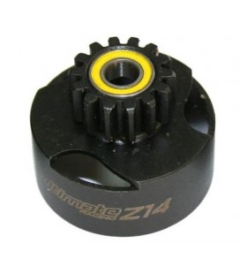 CLUTCH BELL VENTILATED 14T + BEARINGS
