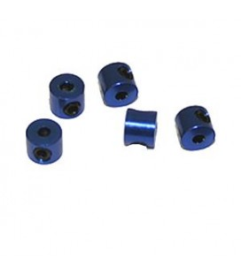 STOPPERS ALU. 2MM BLUE (5) ULTIMATE