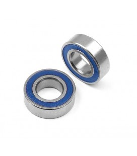 HIGH SPEED BALL BEARING 8X16X5 RUBBER(2)