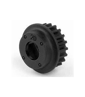 PULLEY 20T 2-SPEED CENTER
