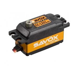 SAVOX SC-1251MG DIGITAL SERVO LOW PROFIL