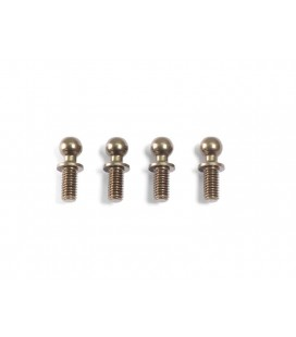 ALU BALL END 4.3x11.8mm (4 pcs)