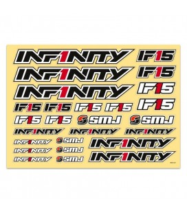 INFINITY IF15 DECAL (Black)