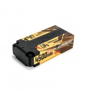 SUNPADOW LIPO SHORTY 7,4V 4500MAH 120C G