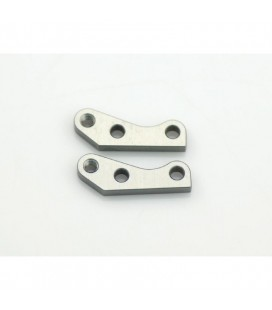 SHOCK EXTENSION BRACKET FRONT ALU (2U)