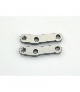 SHOCK EXTENSION BRACKET REAR ALU (2U)
