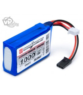 RECEIVER BATTERY LIFE 6,6V 1000Mah CUBE