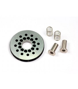 VENTILATED BRAKE DISK SET