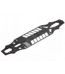 ALUMINIUM FLEX MAIN CHASSIS 2mm/7075/BK