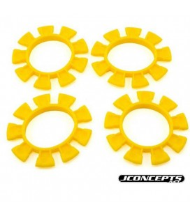 JCONCEPTS TYRE GLUEING BANDS (4) YELLOW