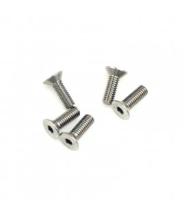 64 TITANIUM SCREW ALLEN COUNTERS. M4x12