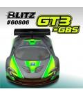BLITZ GT3-GBS 1:8 GT BODY 1,0MM