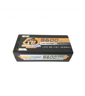 LIPO SHORTY 2S 7.6V HV 5600MAH 100C
