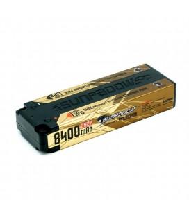 SUNPADOW LIPO 2S 7,4V 8400MAH 120C GOLD