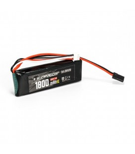 LIPO RECEIVER BATTERY 1800MAH 7,4V