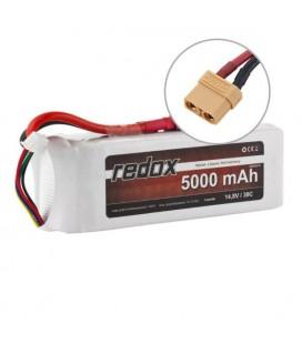 REDOX LIPO BATTERY 5000Mah 14,8V 30C