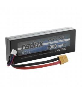 REDOX RACING LIPO 5000Mah 7,4V 50C