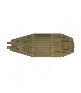 CHASSIS ALU 7075 T6 2.5MM SRX4