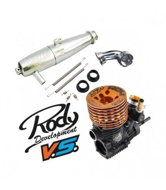 COMBO VS-R04 ENGINE & 2098 EBIS PRE-RUN