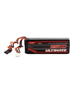 ULTIMATE 6.6V 2500MAH LIFE FLAT RECEIVER