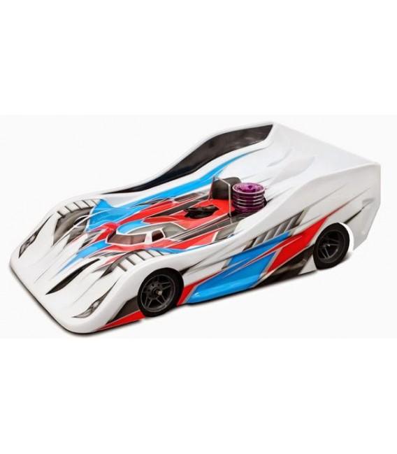 BLITZ TS040 1/8 ON ROAD RACE BODY 1.0MM