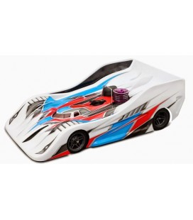 BLITZ TS040 1/8 ON ROAD RACE BODY 1.0MM