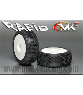 6-MIK RAPID 15-25 TYRES WHITE WHEEL (2U)