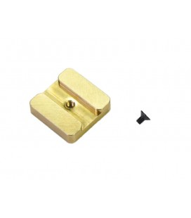 CHASSIS WEIGHT 14gr BRASS S989