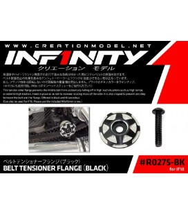 BELT TENSIONER FLANGE (BLACK)