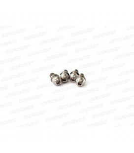 TITAN. BALL END 4.9MM SHORT (4 pcs)