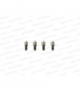TITAN. BALL END 4.9MM MEDIUM (4 pcs)
