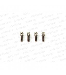 TITAN. BALL END 4.9MM LONG (4 pcs)