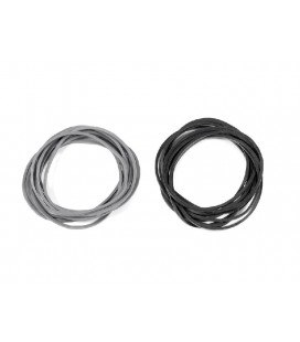 CARBURETOR RETURN RUBBER BAND (Bk/Gr/10)