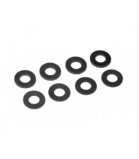 RUBBER BODY MOUNT SPACER 8x15 (1,1.5mm)