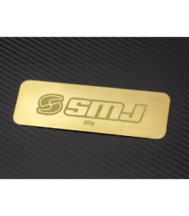 SMJ BATTERY WEIGHT PLATE 30gr.