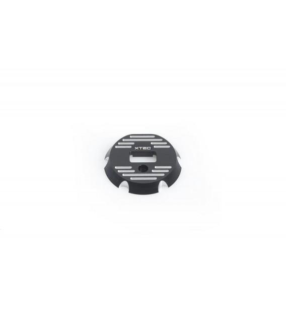 LRP X22 END PLATE - BLACK