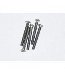 TITANIUM SCREW ALLEN ROUND HEAD M3x25 5U
