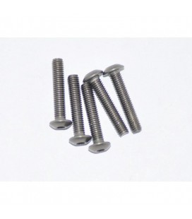 TITANIUM SCREW ALLEN ROUND HEAD M3x16 5U