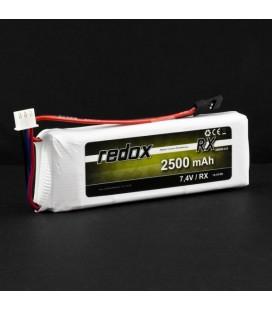 REDOX RX LIPO 2500Mah 7,4V JR