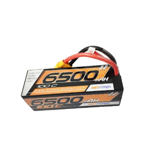 BRUTEPOWER LIPO 4S HV 6500MAH 100C