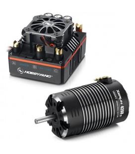 HOBBYWING XR8 PLUS ESC & 4268 G2 1900KV