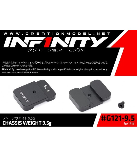 CHASSIS WEIGHT 9.5 gr