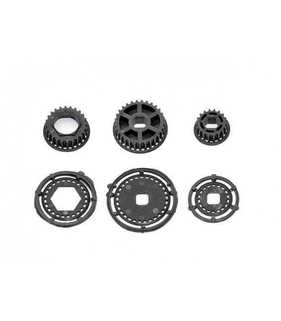 PULLEY SET A (for F.ONEWAY, M.SHAFT)