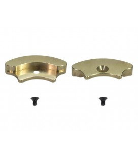 UPRIGHT WEIGHT BRASS (2) S989