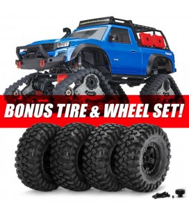 TRX-4 ALL-TERRAIN TRAXX CRAWLER RTR BLUE